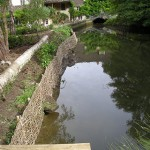 A recent riverbank restoration project in Wiltshire