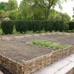 A wattle hurdles project in Wiltshire